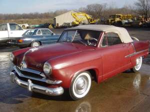 The 1952 Henry J Convertible