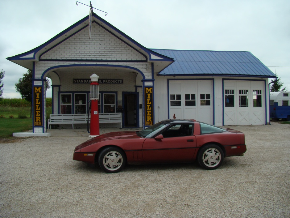 There were so many really cool old gas stations on the Mother Road.