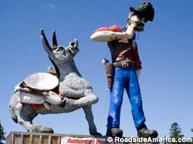 Big Miner and Burro, Albany, OR