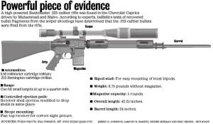 Bushmaster AR-15 .223 caliber