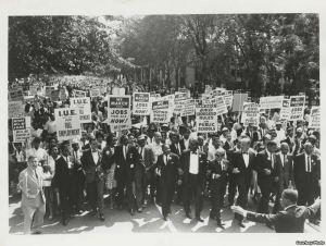 Civil Rights March Detroit 1963