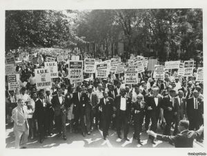 Civil Rights March Detroit 1963