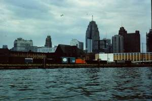 Detroit's skyline