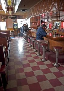El Chapultepic on Market opened in 1933, we sat in the booth and heard great blues and drank damn fine rum .... Black Magic