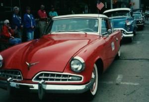 1954 Studey 'lowboy' , one of many Studebakers designed by Raymond Lowey.... http://www.raymondloewy.com/photo-gallery.html