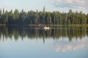 Indian Lake at dusk