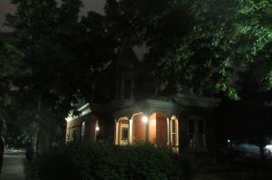 One of the homes on 9th St., I think it's a 1890's mansion