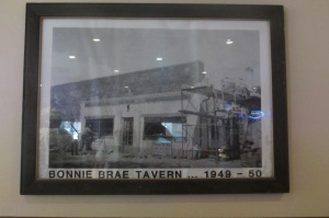 The Bonnie Brae just after the war, this a fine neighborhood bar