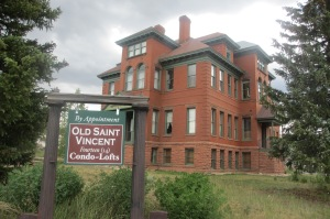 "This is the old St. Vincent's Hospital built in 1878. Now it is a ""condo""."