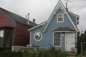 Some of the old homes in Leadville.