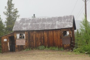 The Silver King's (H.A.W. Tabor) Widow, Baby Doe, was found dead in this cabin in 1935. She had lived there since Tabor died in the early 20th Century
