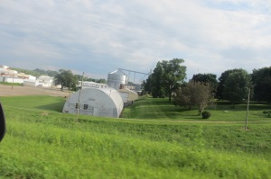 World War II era Quonset Huts from Fairmont