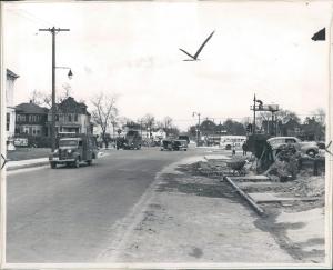 Warren Ave in Detroit before the  war