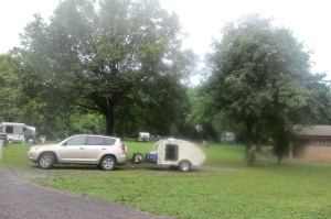 Our camp site at Sampson State Park