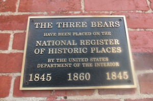 The Three Bears, early example of Greek Revival architecture in Seneca County.